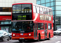 Route 415, Arriva London, DLA138, V338DGT, Elephant & Castle