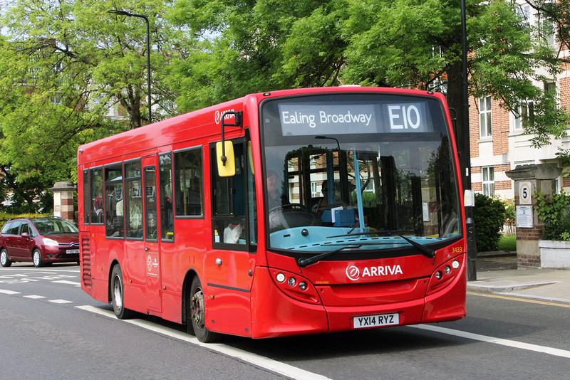 London Bus Routes Route E10 Ealing Broadway Northolt