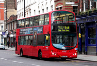 Route 343, Abellio London 9001, BX54DHJ, Borough