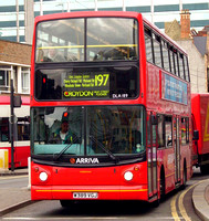 Route 197, Arriva London, DLA189, W389VGJ, Croydon