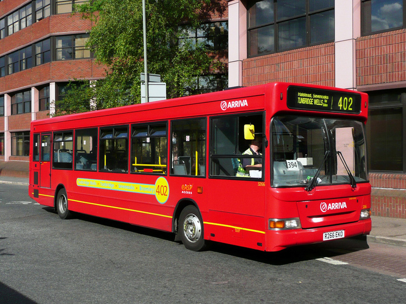 London Bus Routes Route 402 Bromley North Tunbridge