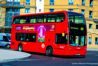 Route 188, Abellio London 2423, SN61CYE, Elephant & Castle