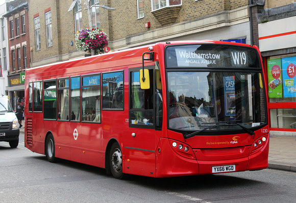 Route W19, CT Plus 1230, YX66WGD, Ilford