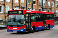 Route 190, Metroline, DM969, LK58CSU, Richmond