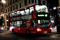Route N207, Metroline, VW1833, BF10LSY, Oxford Street