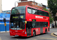 Route 188, Abellio London 2412, SN61DGU, Waterloo