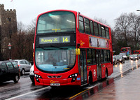 Route 14, Go Ahead London, WHV40, LJ62KHV, Putney Bridge