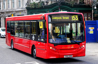 Route 153, CT Plus, DA3, YX62DHD, Liverpool Street