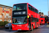 Route 229, Arriva London, T324, LK65ELJ, Bexleyheath