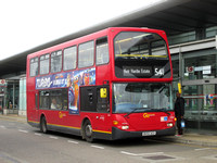 Route 541, Go Ahead London, SO4, BV55UCX, Canning Town