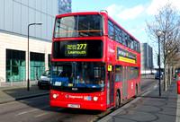 Route 277, Stagecoach London 18235, LX04FYB, Leamouth