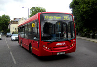 Route 393, Arriva London, ENS6, LJ07EDU, Camden