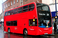 Route 54, Stagecoach London 12264, SN14TVZ, Lewisham