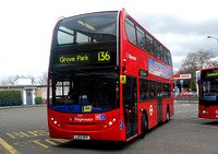 Route 136, Stagecoach London 10131, LX12DFF, Grove Park