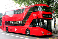 Route 10, London United RATP, LT164, LTZ1164, Hyde Park Corner