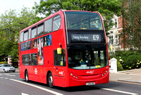 Route E9, Abellio London 9460, LJ09CDZ, Ealing Broadway