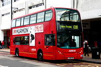 Route 128, Arriva London, T12, LJ08CVG, Romford