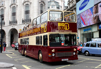 Big Bus Tours, D969, G969FVX, Piccadilly Circus