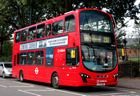 Route 230, Arriva London, DW540, LJ13CEX, Walthamstow Central