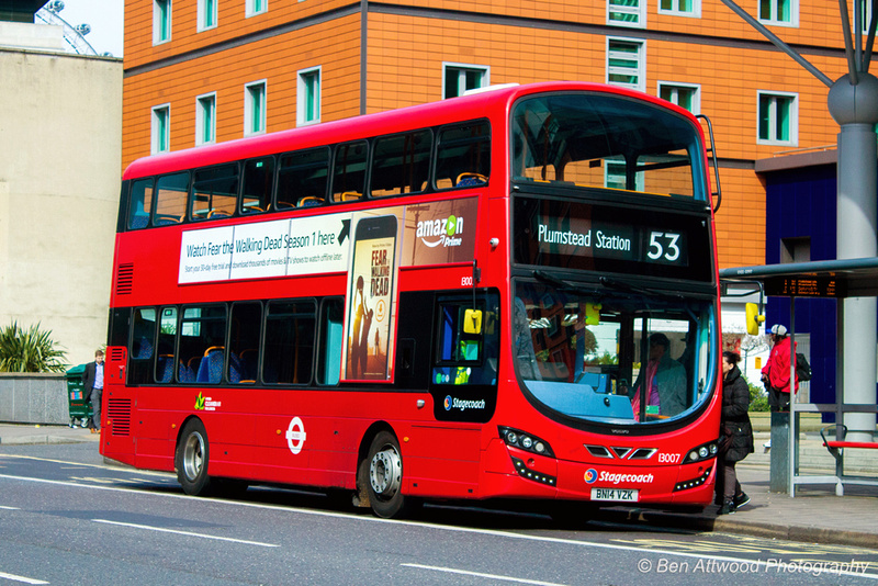 London Bus Routes Latest Photographs May 2016 Route 53