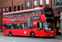 Route 340, Arriva London, SW9, LK16BXM, Stanmore Broadway