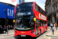 Route 14, Go Ahead London, EH109, YY66OZR, Piccadilly Circus
