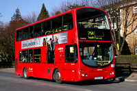 Route 258, Arriva London, VLW129, LG52DAA