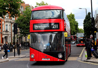 Route 211, Abellio London, LT783, LTZ1783, Victoria