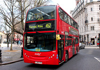 Route 452, Abellio London 9404, LJ56VTD, Sloane Square