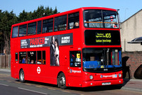 Route 103, Stagecoach London 18476, LX55ERZ, Romford Market