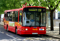 Route D8, First London, DM41747, X747JLO, Canary Wharf