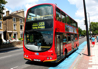 Route 333, Go Ahead London, WVL103, LF52ZMO, Stockwell
