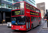 Route 115, Stagecoach London 17527, LX51FOK, Aldgate