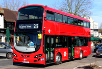 Route 212, Tower Transit, VH38103, BL64MHF, Chingford