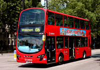 Route 106, Arriva London, DW524, LJ13CDF, Bethnal Green