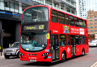 Route 67, Arriva London, DW551, LJ13CDY, Aldgate