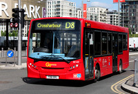 Route D8, Go Ahead London, SE143, YX61BXL, Stratford City