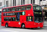 Route 23, Tower Transit, DNH39125, SN12ATO, Trafalgar Square