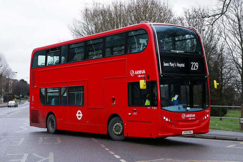 London Bus Routes Route 229 Queen Mary S Hospital