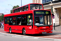 Route 484, Abellio London, 8338, YX11AHL at Lewisham