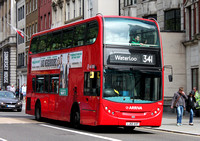 Route 341, Arriva London, T158, LJ60AVF, Aldwych
