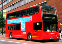 Route 135, Arriva London, T21, LJ08CUU, Old Street