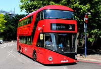 Route 21, Go Ahead London, LT852, LTZ1852, Lewisham