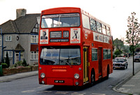 Route 138, London Transport, DMS411, JGF411K, Hayes