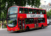 Route 14, Go Ahead London, WVL17, LG02KHR, Hyde Park Corner