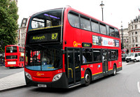 Route 87, Go Ahead London, E133, SN60BZE, Trafalgar Square