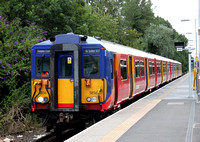 South West Trains, 455856, Hampton Court
