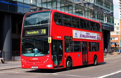 London Bus Routes Route 78 Nunhead Shoreditch