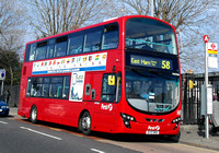 Route 58, First London, VN37860, BV10WWB, Leyton
