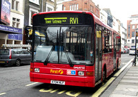 Route RV1, First London, DML41734, X734HLF, Covent Garden